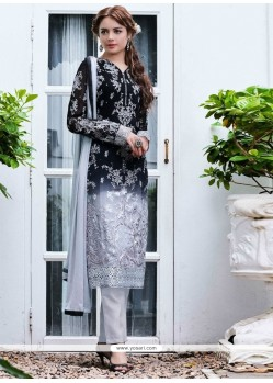 Gilded Georgette Embroidered Work Designer Salwar Kameez
