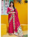 Rani Designer Classic Party Wear Pure Banarasi Silk Sari