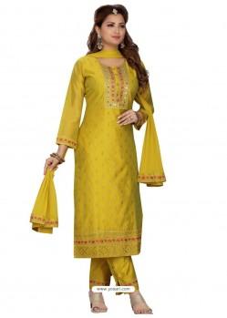 Corn Stylish Readymade Party Wear Salwar Suit