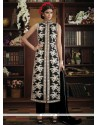 Specialised Embroidered Work Black Designer Suit