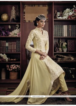 Ideal Georgette Designer Suit
