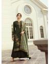 Mehendi Designer Party Wear Viscos Dola Palazzo Salwar Suit
