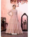Baby Pink Stylish Designer Party Wear Gown