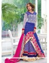 Auspicious Patch Border Work Designer Salwar Kameez