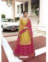 Yellow Scintillating Designer Wedding Salwar Suit