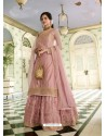 Baby Pink Scintillating Designer Wedding Salwar Suit
