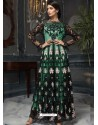 Sea Green Latest Designer Heavy Net Party Wear Pakistani Suit