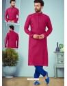 Rani Readymade Designer Party Wear Kurta Pajama For Men