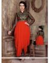 Remarkable Red Designer Salwar Suit