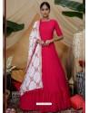 Rani Latest Heavy Designer Party Wear Anarkali Suit