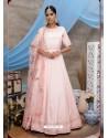 Baby Pink Latest Heavy Designer Party Wear Anarkali Suit