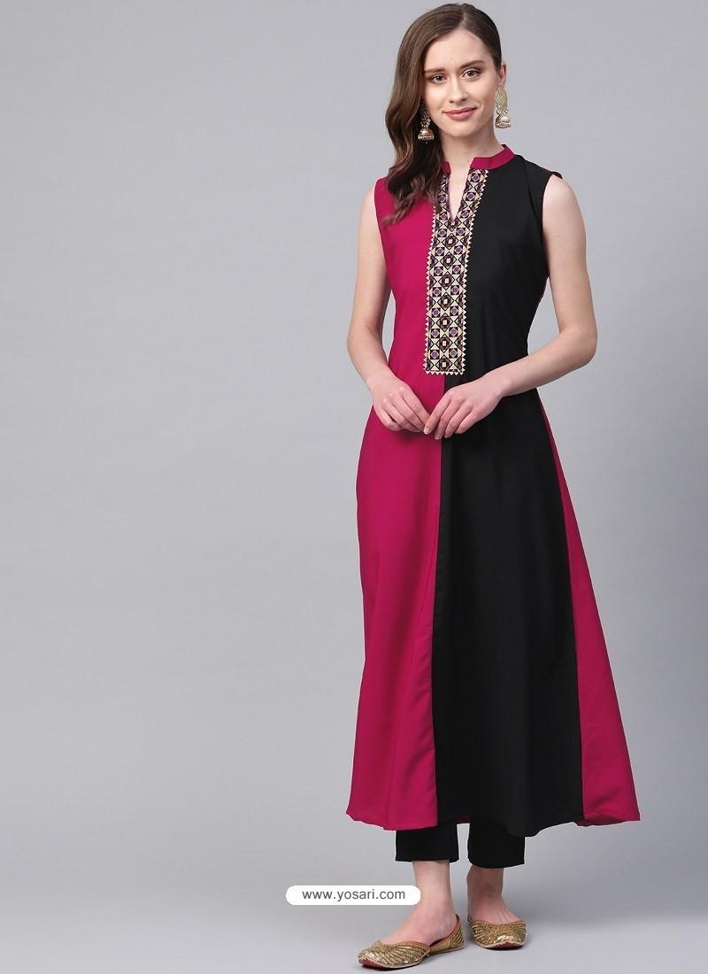 Multi Colour Designer Readymade Party Wear Kurti