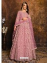Light Pink Latest Heavy Designer Party Wear Anarkali Suit