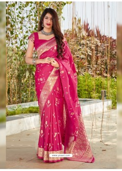 Rani Latest Designer Classic Wear Silk Sari