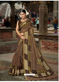 Multi Colour Latest Casual Wear Designer Printed Soft Cotton Sari