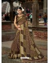 Multi Colour Latest Casual Wear Designer Printed Soft Cotton Sari