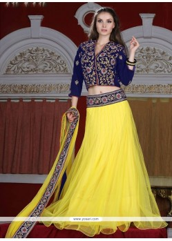 Distinguishable A Line Lehenga Choli For Wedding