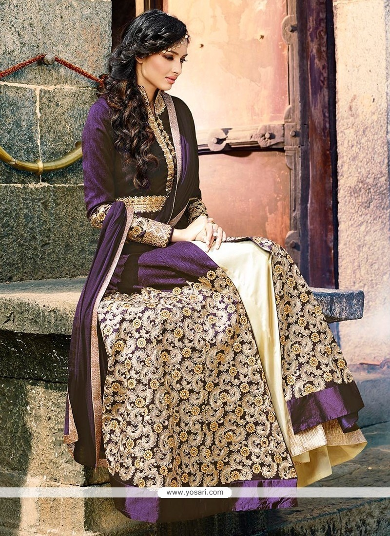 Resplendent Crepe Silk Embroidered Work Designer Lehenga Choli