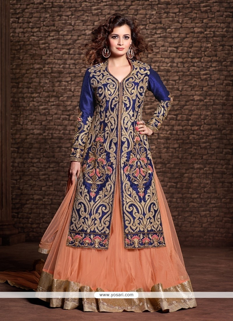 Diya Mirza Embroidered Work Designer Lehenga Choli