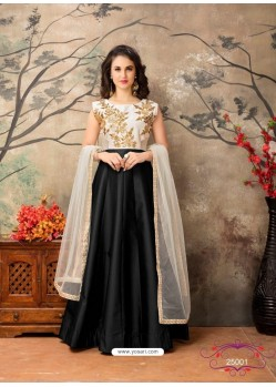 Black Dazzling Designer Party Wear Lehenga Choli