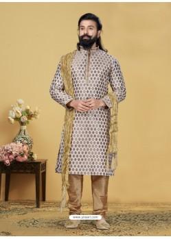 Off White Exclusive Readymade Kurta Pajama