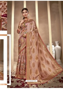 Multi Colour Latest Designer Party Wear Silk Sari