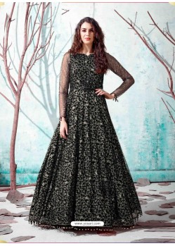 Black Stunning Designer Party Wear Gown