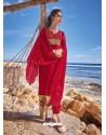 Crimson Latest Heavy Designer Party Wear Straight Salwar Suit