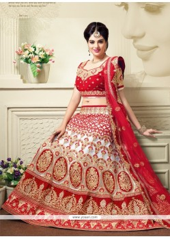 Pretty A Line Lehenga Choli For Bridal