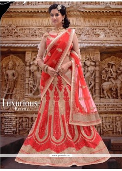 Attractive Net A Line Lehenga Choli