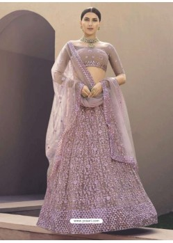 Mauve Latest Designer Wedding Wear Lehenga Choli