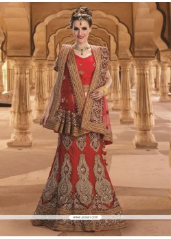Aesthetic Net Red A Line Lehenga Choli