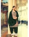 Dusty Pink Designer Party Wear Jam Silk Cotton Punjabi Patiala Suit