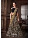 Multi Colour Scintillating Designer Fancy Party Wear Lehenga Style Sari