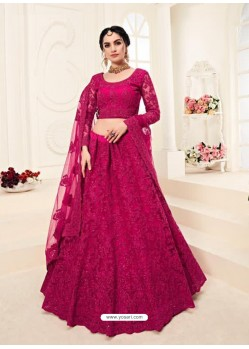 Rani Heavy Embroidered Designer Wedding Lehenga Choli