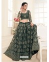 Mehendi Heavy Embroidered Designer Wedding Lehenga Choli