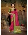 Rani Latest Designer Traditional Party Wear Soft Silk Sari