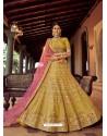Corn Heavy Embroidered Designer Wedding Lehenga Choli