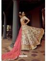 Off White Heavy Embroidered Designer Wedding Lehenga Choli