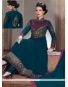 Ethnic Georgette Resham Work Anarkali Salwar Suit