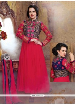 Sterling Georgette Anarkali Salwar Suit