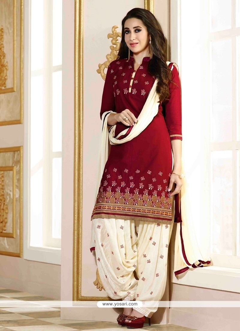 Karishma Kapoor Cotton Designer Patiala Suit