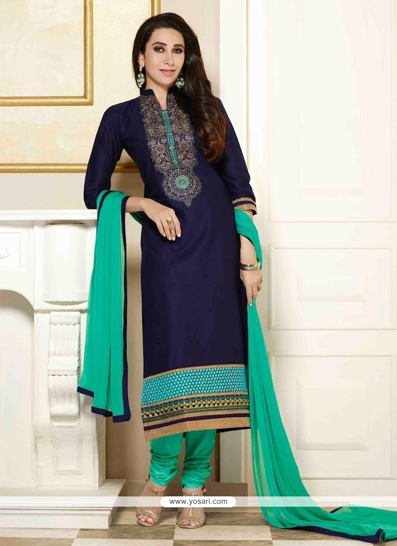 Karishma Kapoor Cotton Churidar Salwar Suit