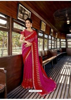 Rani Designer Casual Wear Georgette Sari
