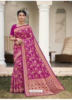 Rani Designer Classic Wear Cotton Jacquard Sari