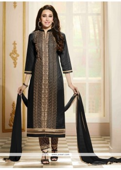 Karishma Kapoor Zari Work Cotton Designer Straight Suit
