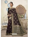 Multi Colour Designer Party Wear Art Silk Sari