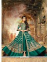 Girlish Georgette Resham Work Anarkali Salwar Kameez