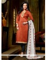 Lively Banglori Silk Lace Work Churidar Designer Suit