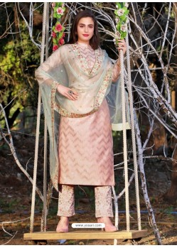 Baby Pink Readymade Designer Party Wear Wedding Suit